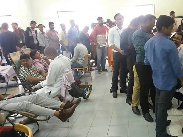 Blood Donation Camp held on eve of blood donor day
