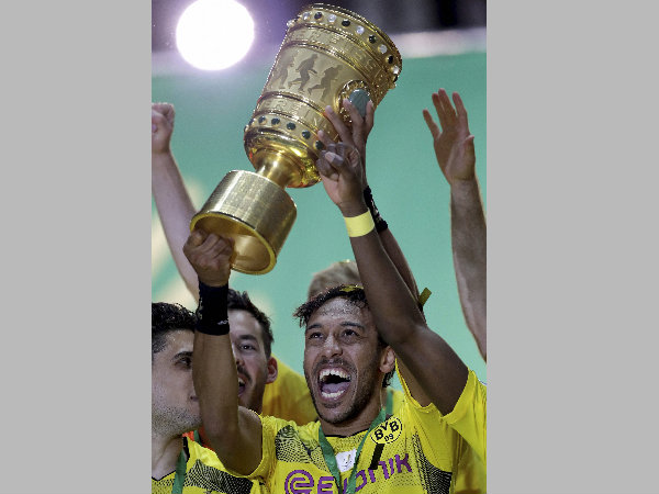 File photo: Pierre-Emerick Aubameyang