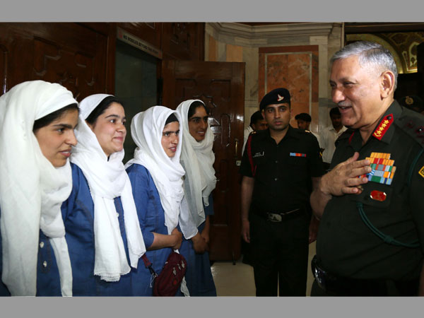 Kashmir is heaven, need to ensure peace: Army chief