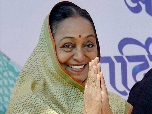 Presidential election: Meira Kumar makes an emotional appeal for vote