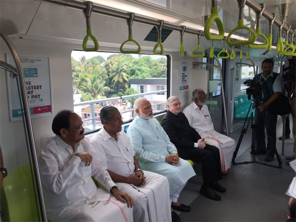 KOCHI METRO reflects MAKE IN INDIA VISION!!