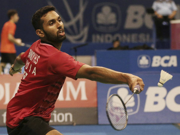 Shuttler Prannoy stuns defending champion in Indonesia Open