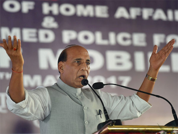 Home Minister Rajnath Singh. PTI file photo