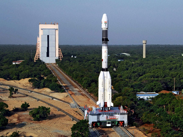 India's space agency is launching a rocket carrying a communication satellite