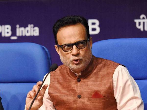 File photo of Finance Secretary Hasmukh Adhia