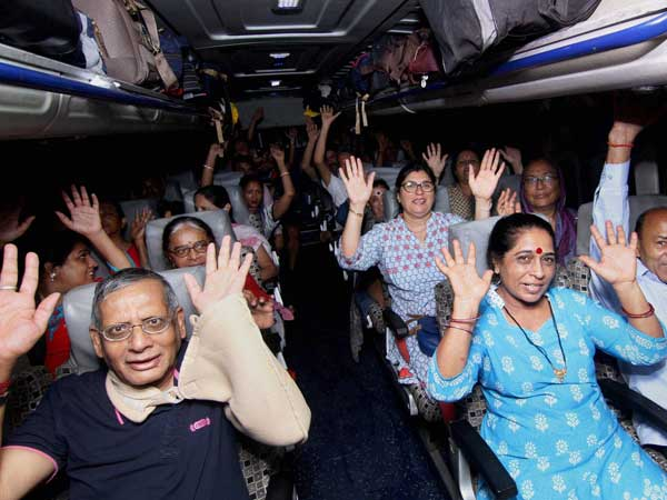 Amarnath Yatra: Fresh batch of 3,500 pilgrims leave Jammu