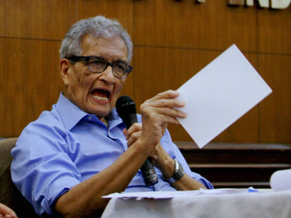 Nobel laureate Amartya Sen. PTi file photo