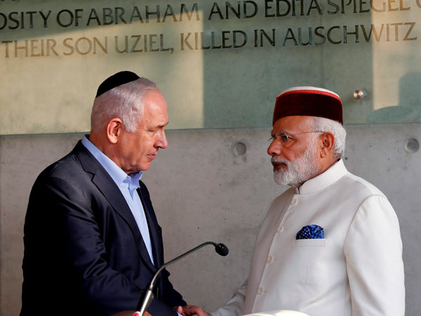 When Israel reserved for Modi a gesture extended only to US President and Pope