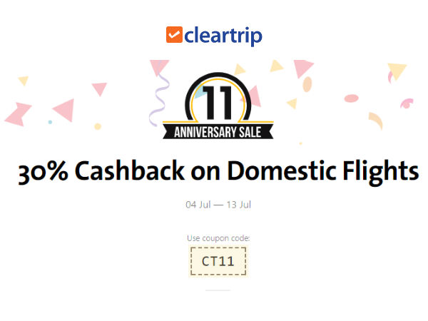 Cleartrip is amongst the leading online travel company launched in the year Their objective is to provide a trouble free booking. They gives the best experience to all the travellers for train tickets, flight bookings and hotel reservation. They provides the various international and domestic holiday packages.