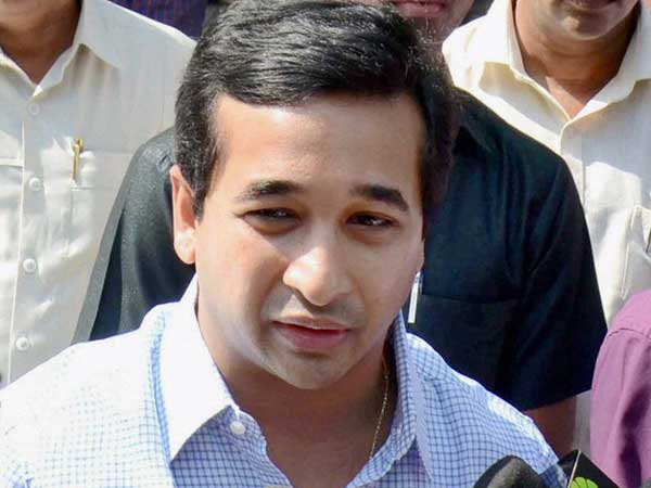Congress MLA Nitesh Rane surrenders before police