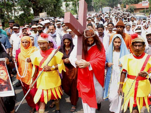 Vested interest desecrate two more holy crosses in Goa