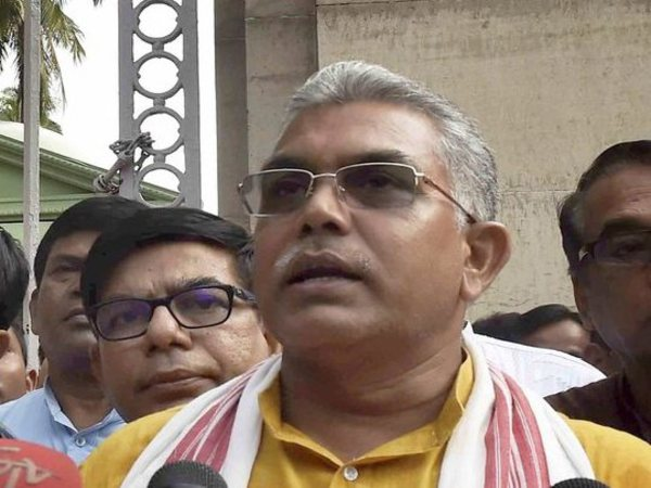 File photo of Dilip Ghosh