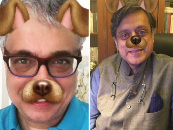 After PM Modi's dog filter meme, Derek O'Brien, Shashi Tharoor take a dig at trolls
