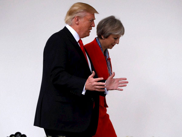 G20 to press Trump to rejoin climate deal, says British PM Theresa May
