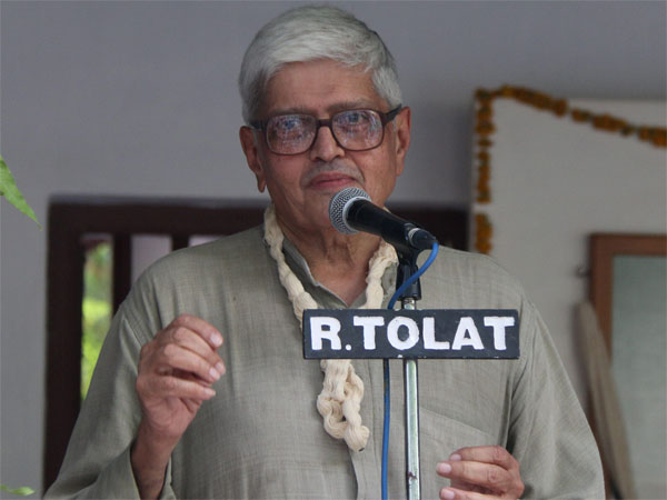 Mahatma Gandhi's grandson and former West Bengal Governor Gopalkrishna Gandhi