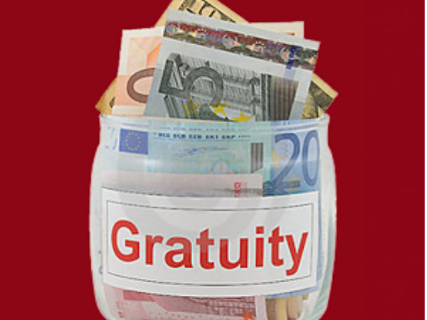 Bringing cheers for thousands of private sector employees, the government is likely to amend the Gratuity Act to enhance the ceiling of gratuity to Rs. 20 lakh from Rs. 10 lakh.
