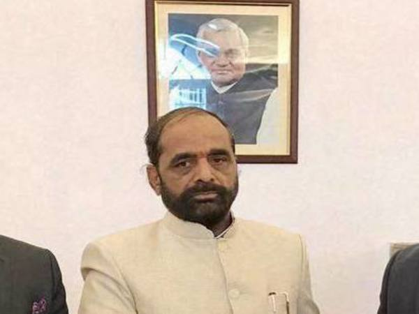 Union Minister of State for Home Hansraj Ahir