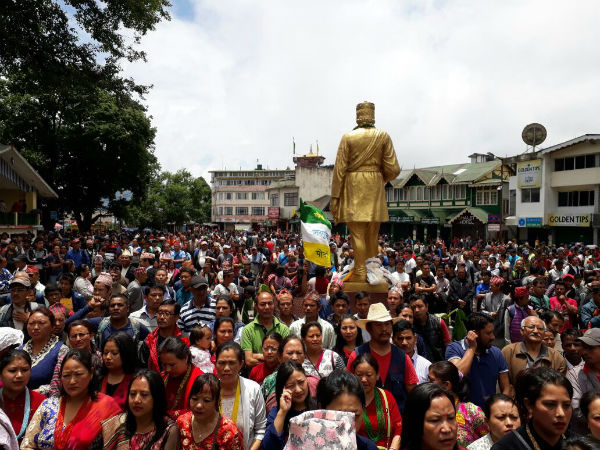 Birth anniversary of Nepali poet occupies centre stage of Hill politics