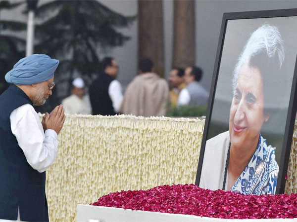 Indira Gandhi's name dropped from Oxford centre. PTI file photo