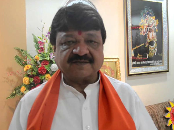 BJP national general secretary Kailash Vijayvergiya