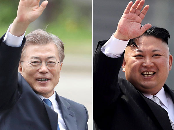 Historic Kim-Moon border summit gets underway