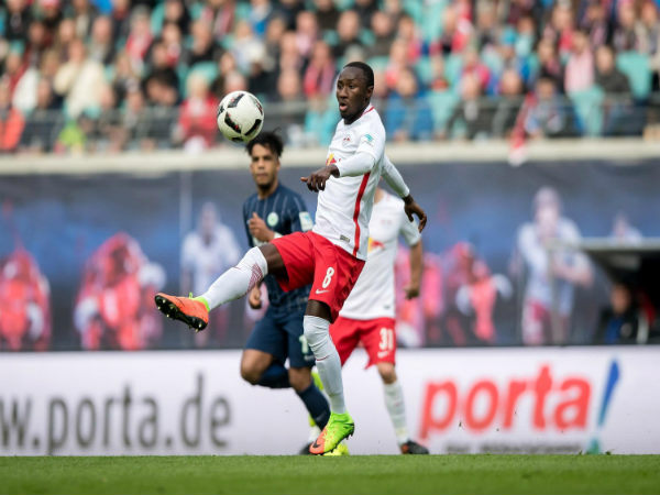 Liverpool target Naby Keita involved in a heated bust-up in training