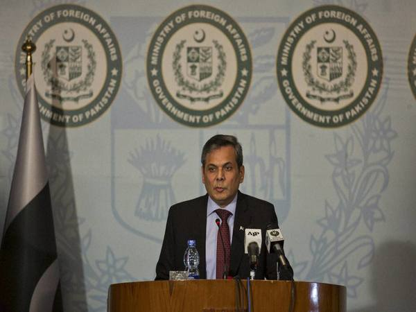 Pakistan Foreign Office spokesperson Nafees Zakaria