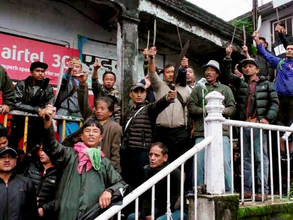 Another GJM supporter succumbs to injuries in Darjeeling