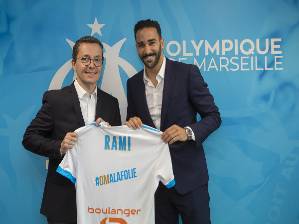 Marseille sign Adil Rami from Sevilla, who add Sebastien Corchia from Lille