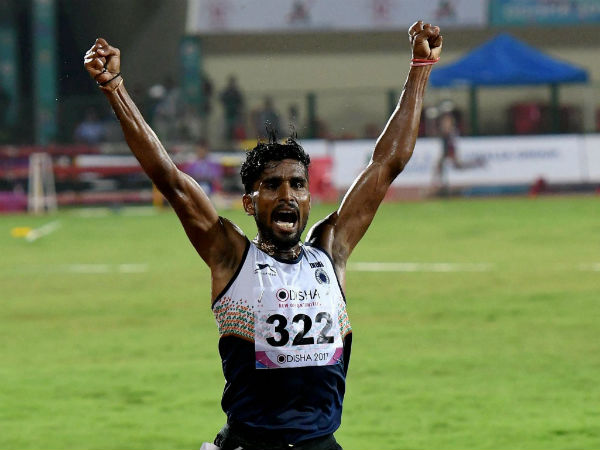 Haddadi clinches gold at Asian Athletics Championship