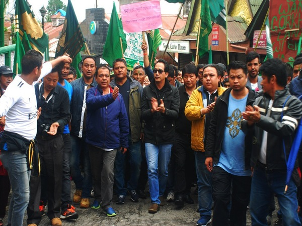 gorkhaland agitation