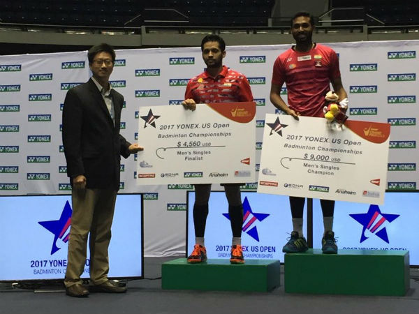 HS Prannoy wins US Open Grand Prix Gold badminton title