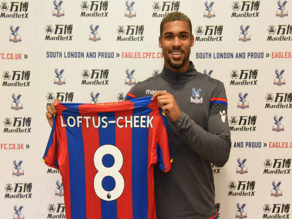 Crystal Palace sign Chelsea's Ruben Loftus-Cheek on loan