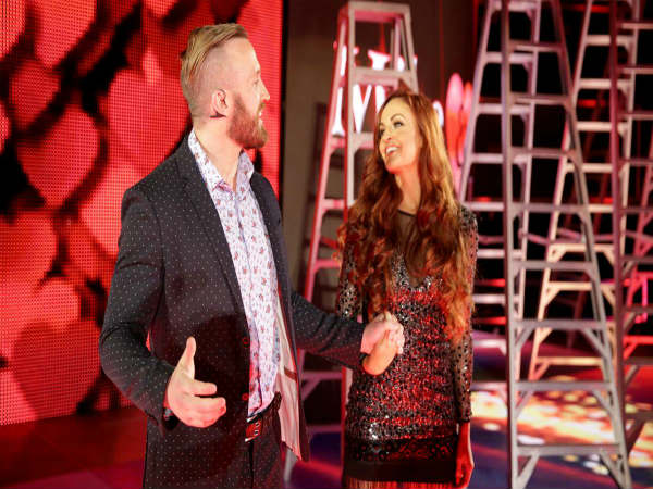 Mike (left) & Maria Kanellis (image courtesy WWE.com)