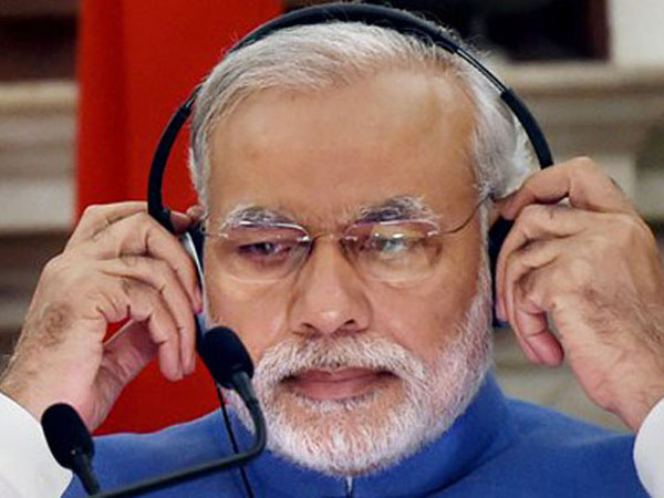 Modi talks of floods in 'Mann Ki Baat'