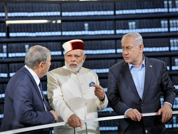 India and Israel are now strategic partners against terrorism