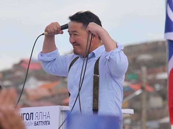 Real estate tycoon wins Mongolia presidency