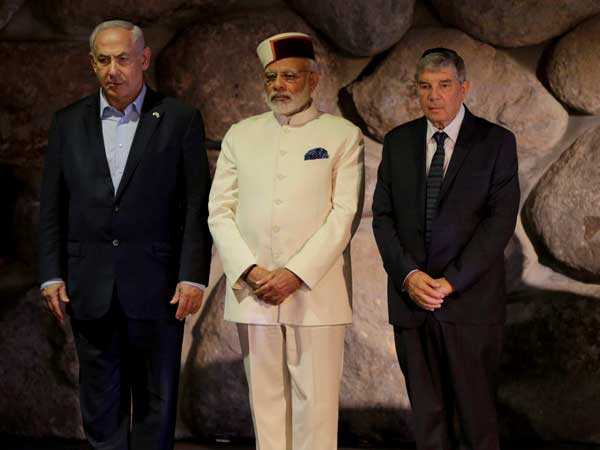 PM Narendra Modi announces Delhi-Mumbai-Tel Aviv flight service