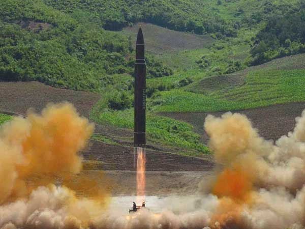 North: N. Korea's Recent Test Proves Ability to Launch Missile from Anywhere