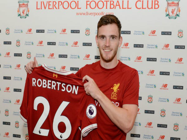 Left-back Andy Roberson joins Liverpool from Hull