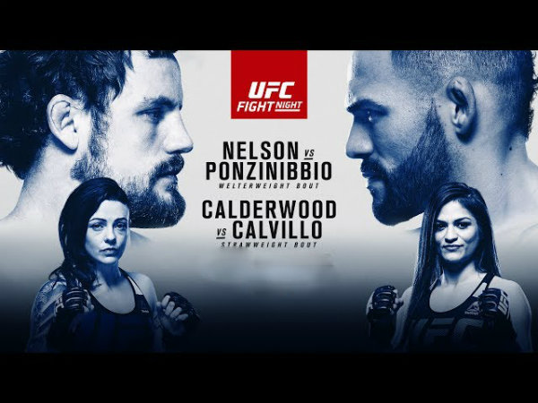 UFC Fight Night 113: Nelson vs. Ponzinibbio Results
