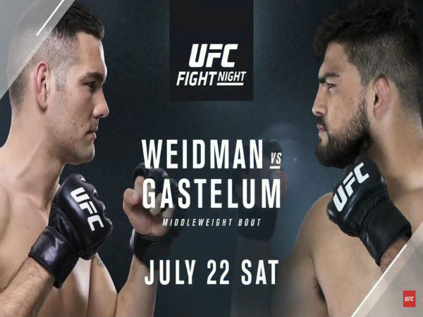 Chris Weidman Submits Kelvin Gastelum At UFC on Fox 25