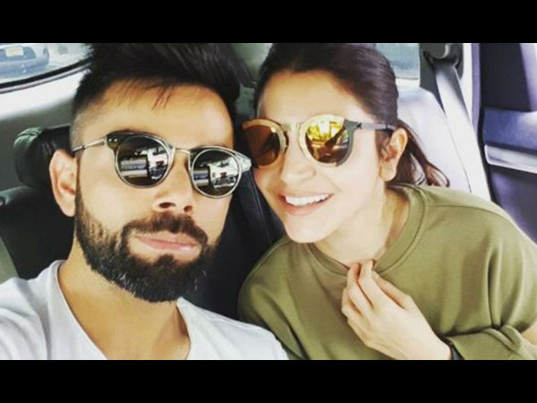 Virat Kohli posts adorable photograph with his 'love' Anushka Sharma - See Pic!