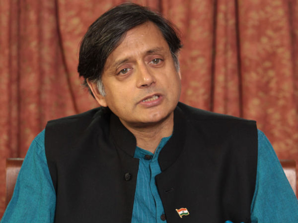 Congress leader Shasi Tharoor