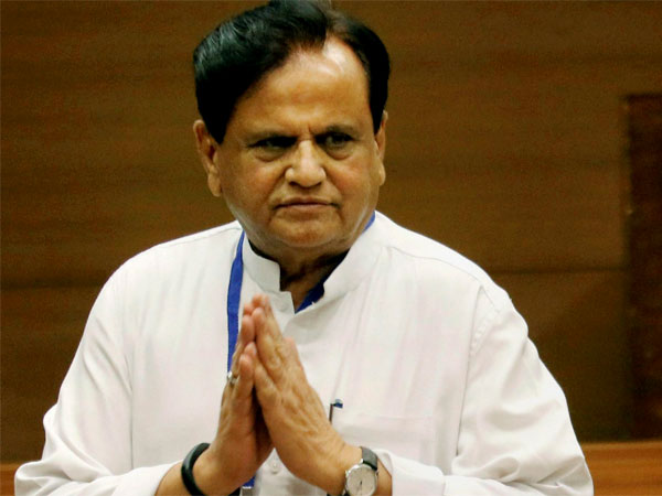 Congress leader Ahmed Patel. Photo credit: PTI