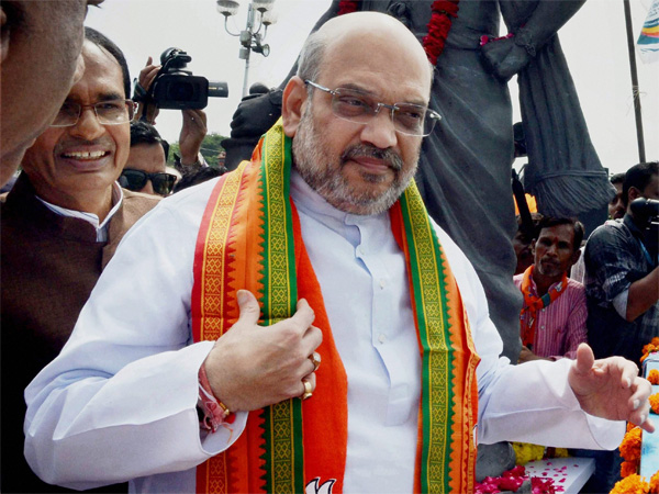 BJP National President Amit Shah
