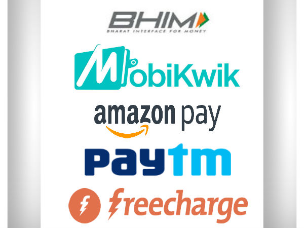 Clash Of Wallets: Paytm Wallet Vs Amazon Pay Vs BHIM App Vs Mobikwik Wallet Vs FreeCharge Wallet