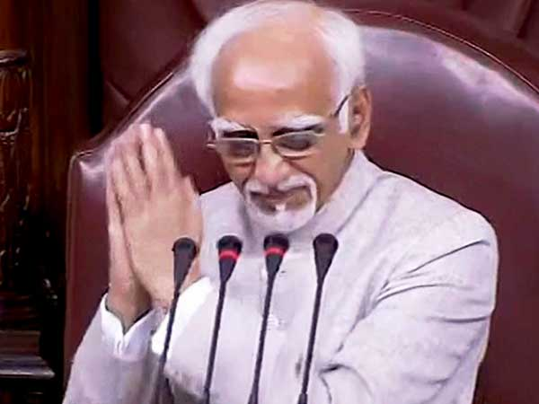 Ansari looking for political shelter, says BJP on 'insecurity among Muslims' remark