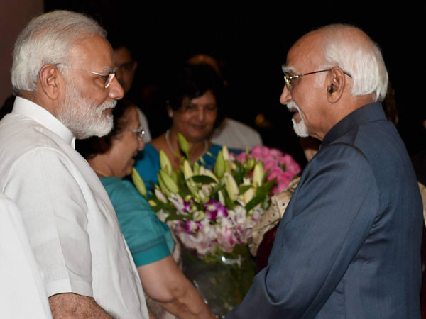 RS bids farewell to Ansari, PM thanks him for his distinguished years in public service