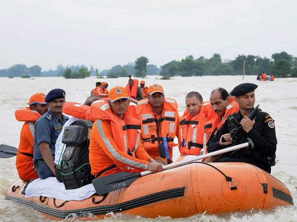 UP floods: 69 killed, 20 lakh people affected in 24 districts